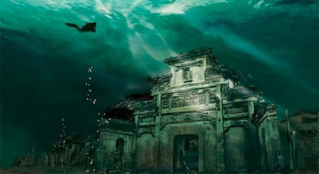 ciudad bajo el agua china 1