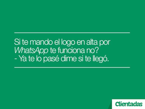 clientadas whatsapp