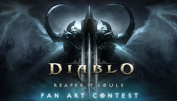 diablo fan art contest