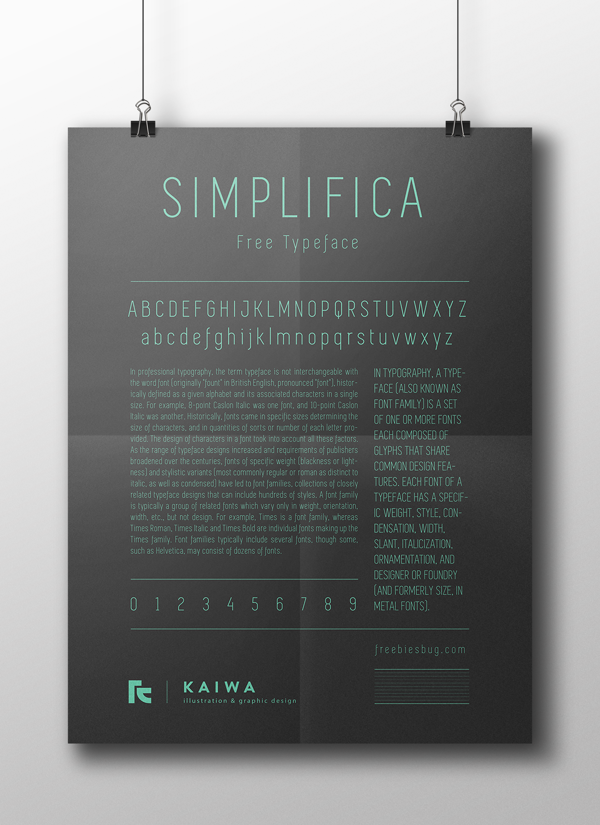 fuente gratis simplifica 1