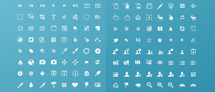 iconos para Sketch