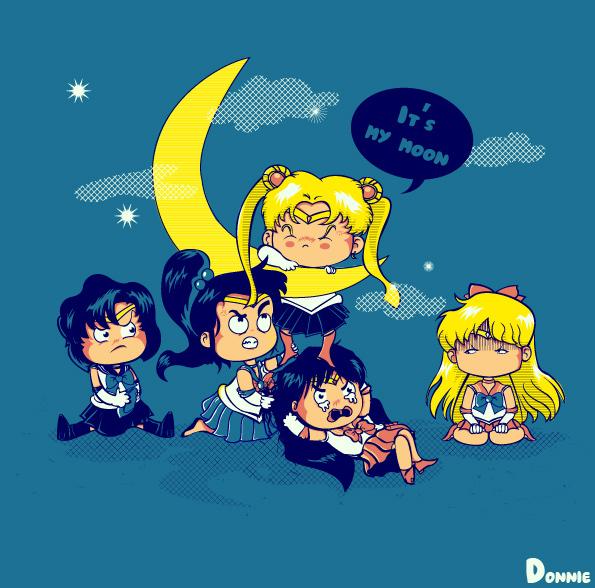 ilustraciones personajes sailor moon