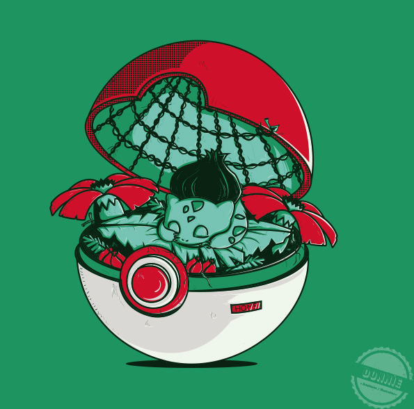 ilustraciones pokemon bulbasaur
