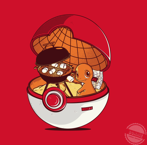 ilustraciones pokemon charmander