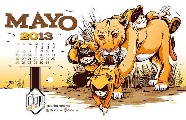 ilustraciones sr chucho mayo 2013