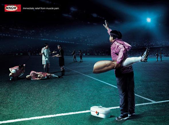 imágenes de publicidad bengay