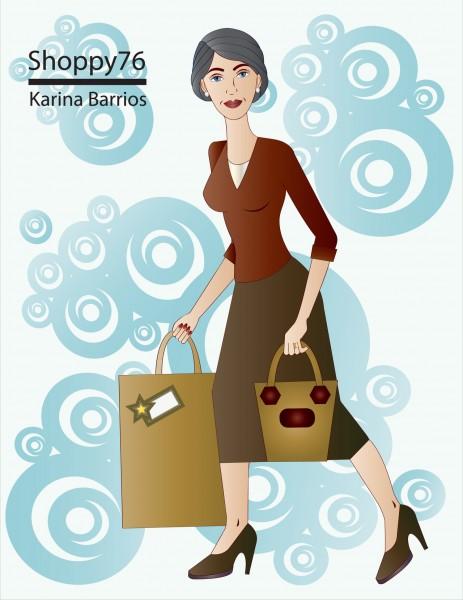 Diseño por Karina Barrios, Ilustración