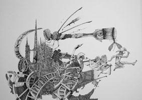 Dibujo por Cristian Mateu Abreu