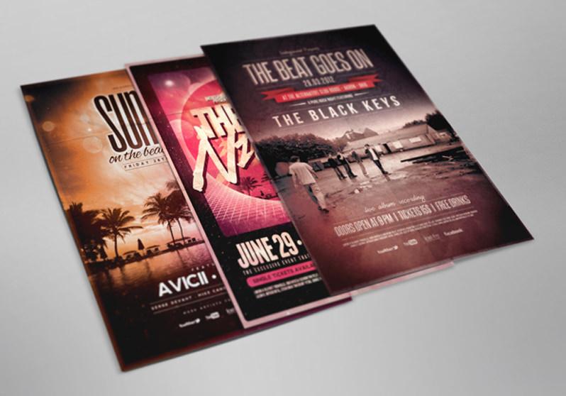 Mockup para flyers y posters