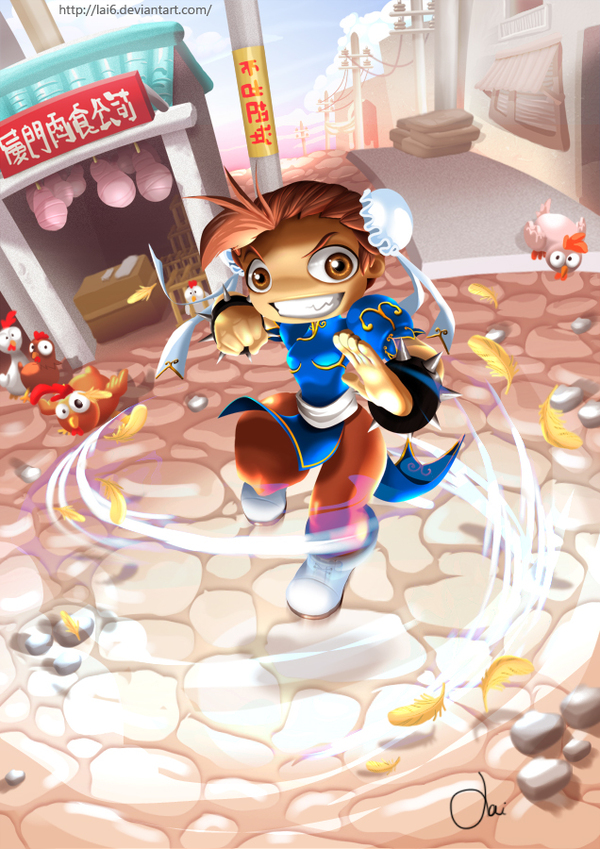street fighter mini chung li