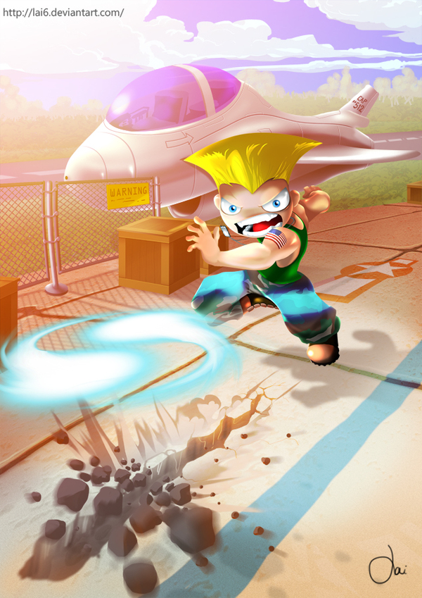 street fighter mini guile