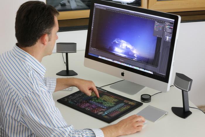 teclado especial para photoshop