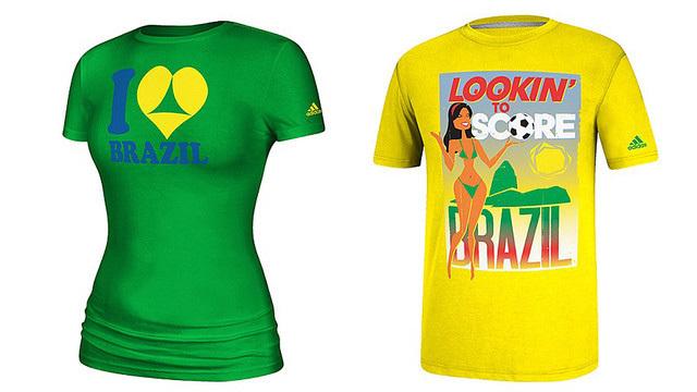 adidad camisas censuradas brasil 2014