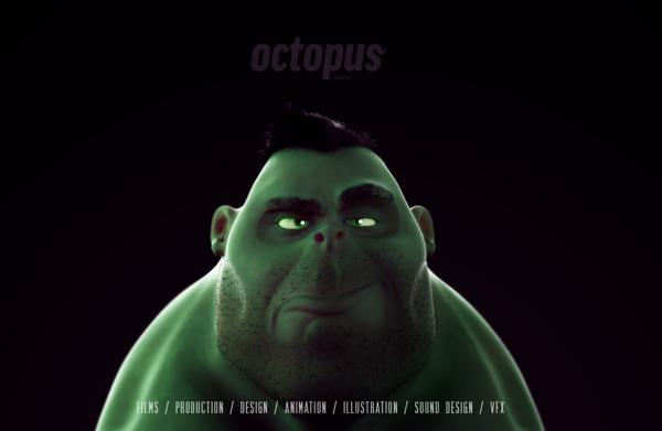 diseños de personajes 3D rockopy 4