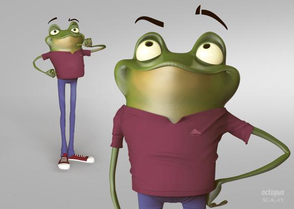 diseños de personajes 3D rockopy 7