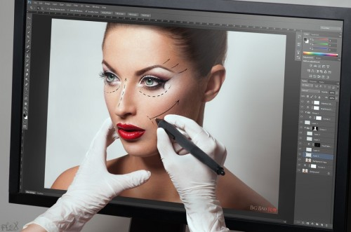 ejemplo retoque photoshop belleza 3D