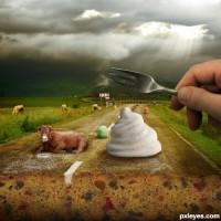ejemplo retoque photoshop carretera de pan