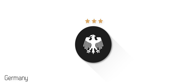 escudos futbol flat alemania