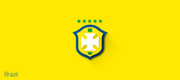 escudos futbol flat brasil