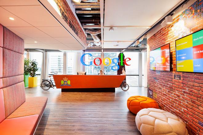 fotos oficinas google amsterdan