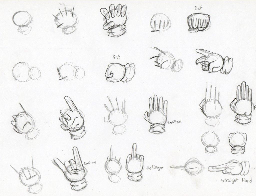 aprender a dibujar manos