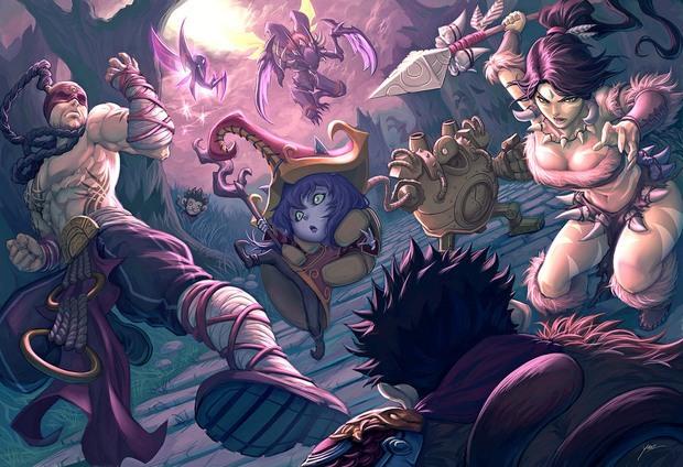 ilustraciones anime quirkilicious 10
