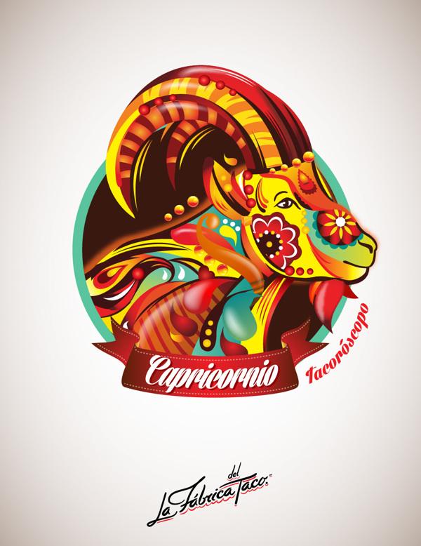 ilustraciones zodiaco capricornio