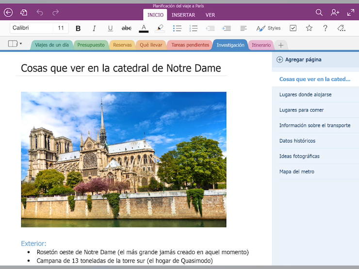 office para ipad one note