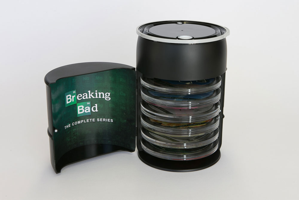 packaging box set serie breaking bad 3