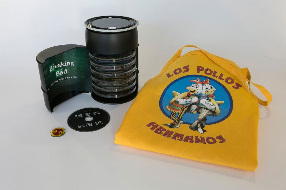 packaging box set serie breaking bad 6