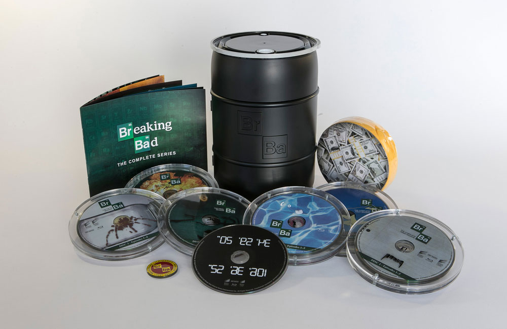 packaging box set serie breaking bad 7