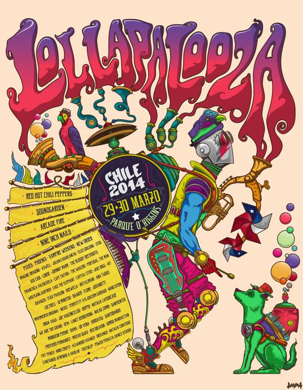 GIG LOLLAPALOOZA CHILE 2014 2