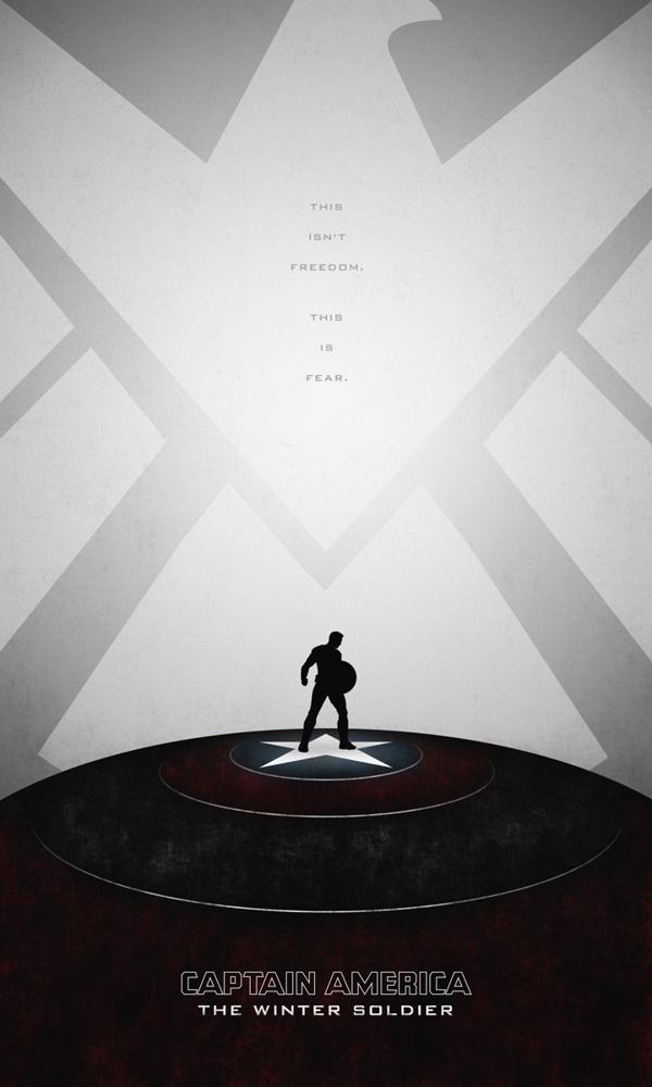 posters minimalistas capitan america winter soldier 1