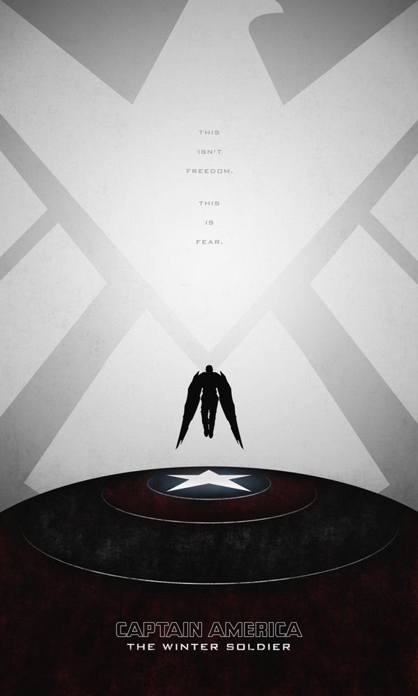 posters minimalistas capitan america winter soldier 3