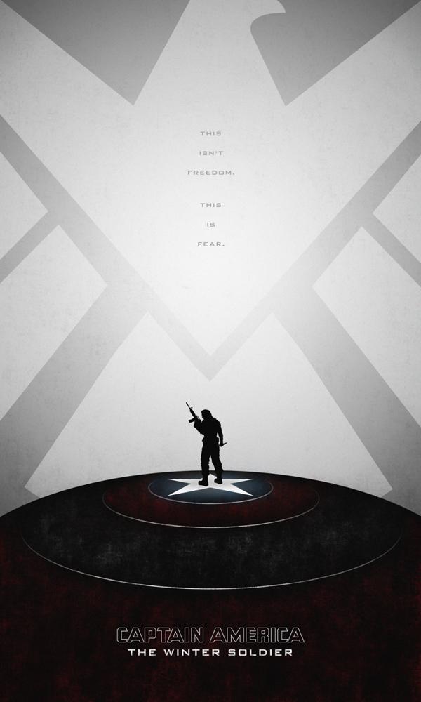 posters minimalistas capitan america winter soldier 5