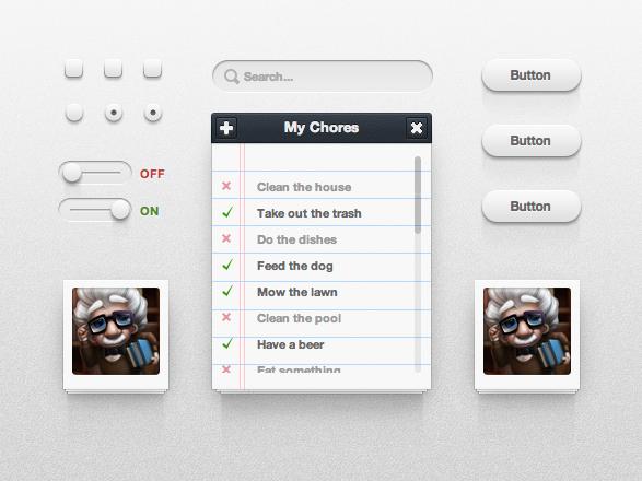 IconDeposit CSS3 UI Kit