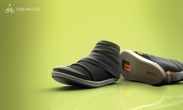 Urbanized Cycling Shoe por Jillian Tackaberry de Chicago, Estados Unidos