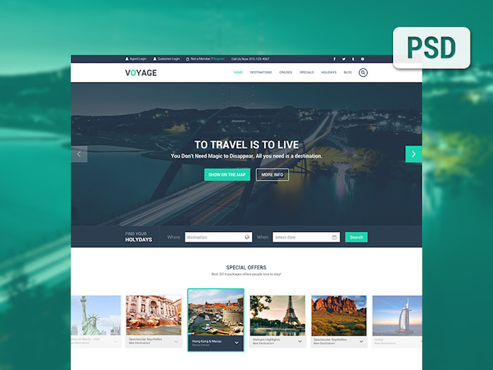 6 Plantillas PSD para paginas web gratis - Frogx Three