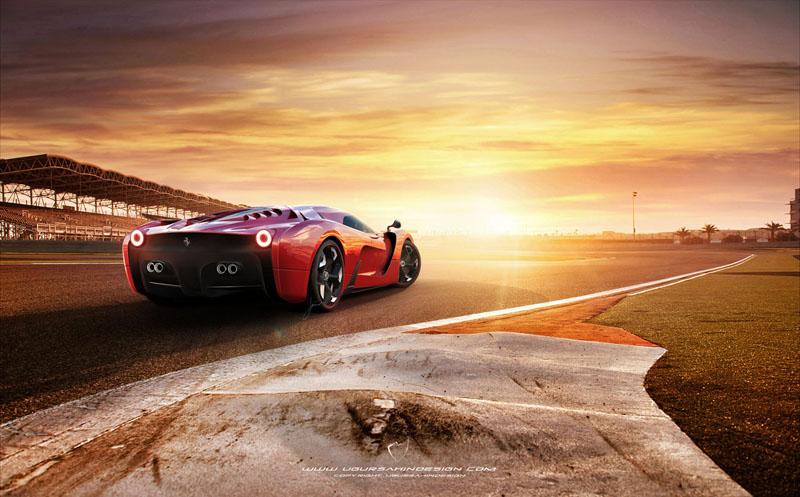 Ferrari 458 Italia project f concept 1
