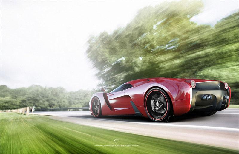 Ferrari 458 Italia project f concept 14