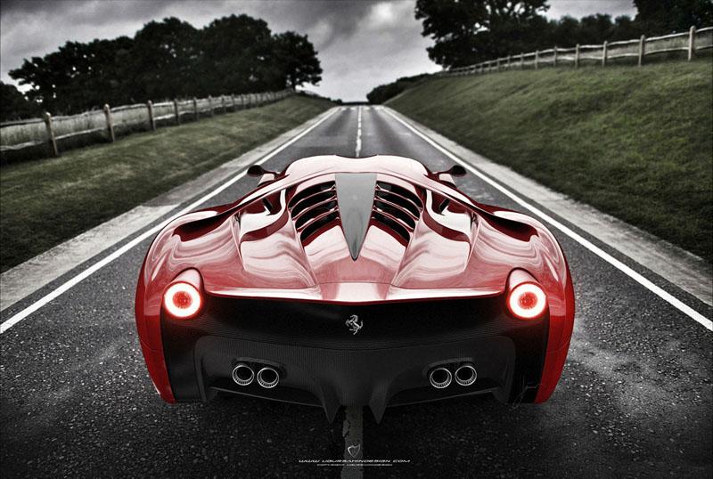 Ferrari 458 Italia project f concept 2