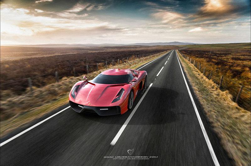 Ferrari 458 Italia project f concept 3