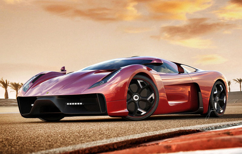 Ferrari 458 Italia project f concept 5