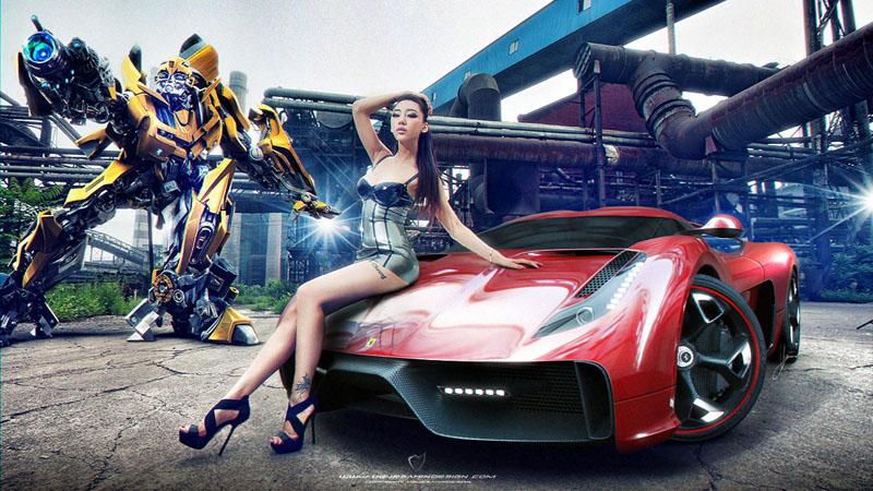 Ferrari 458 Italia project f concept 6