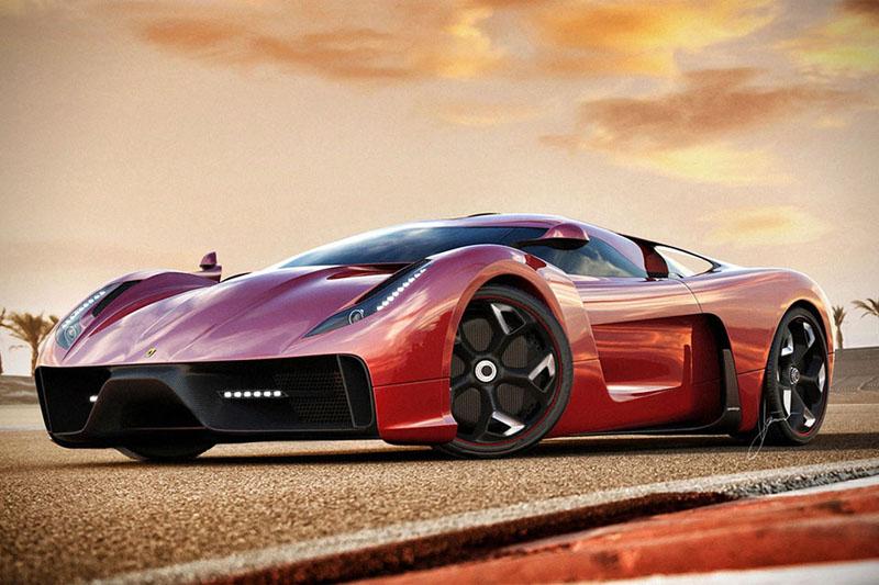 Ferrari 458 Italia project f concept 7