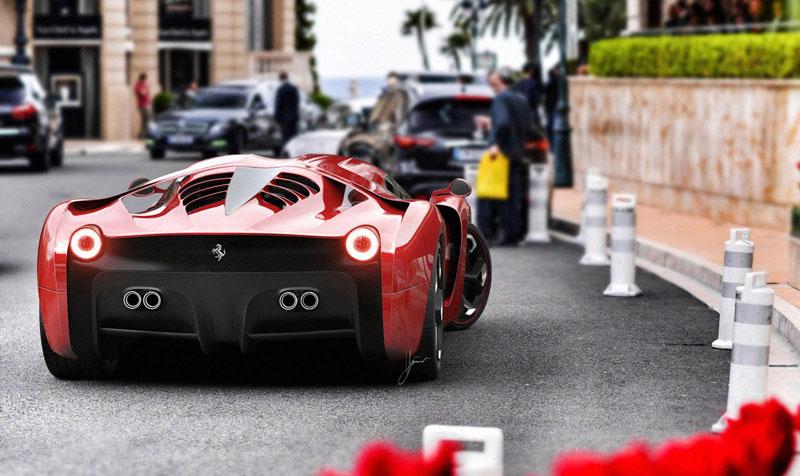 Ferrari 458 Italia project f concept 8