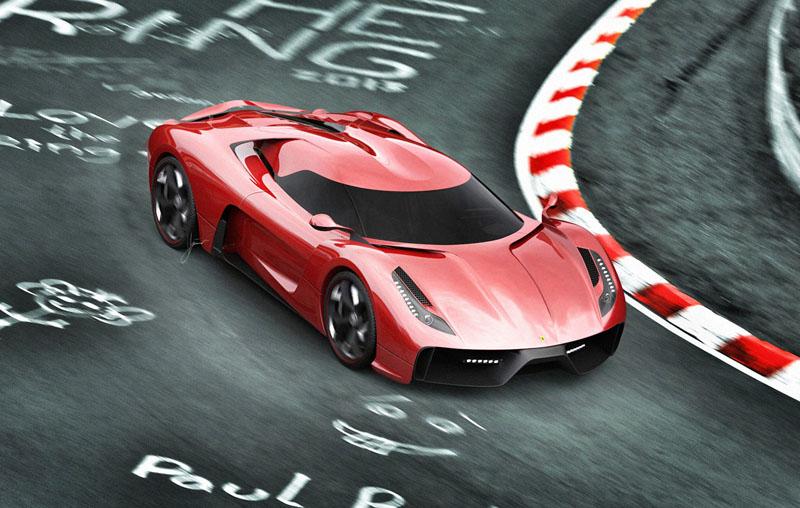 Ferrari 458 Italia project f concept 9