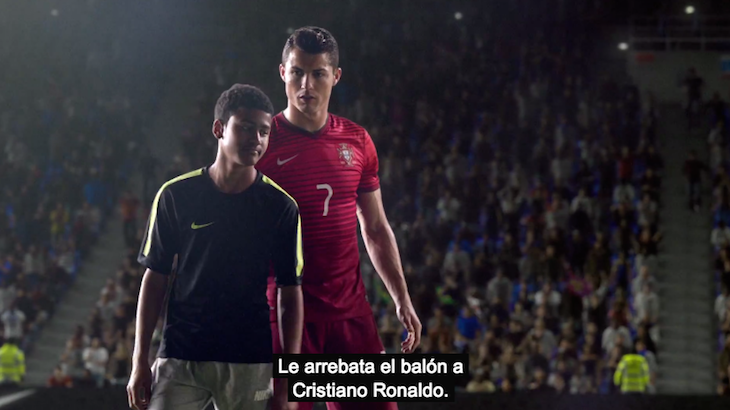 Nike Risk Everything CR7 y Joven