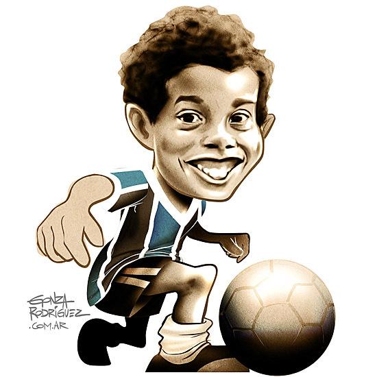Ronaldinho de niño