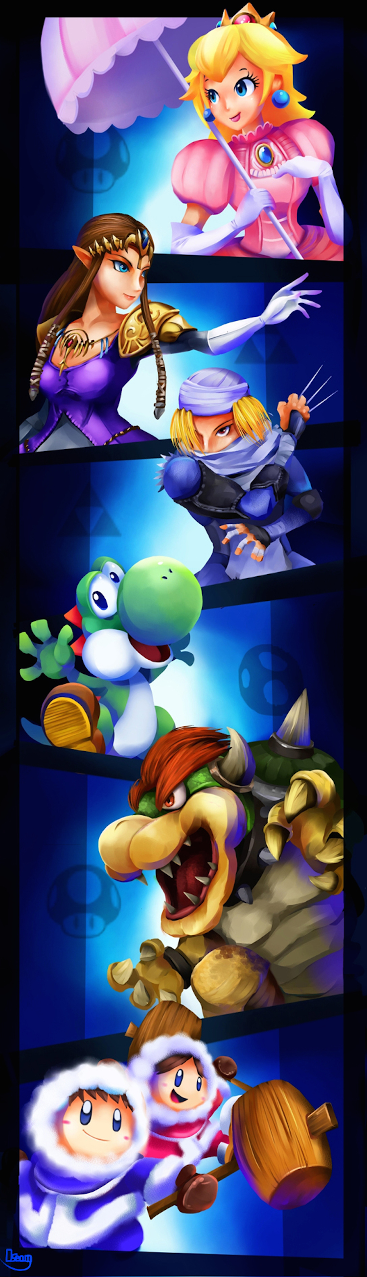 Smash_Brothers_Veterans_2_by_zgul_osr1113
